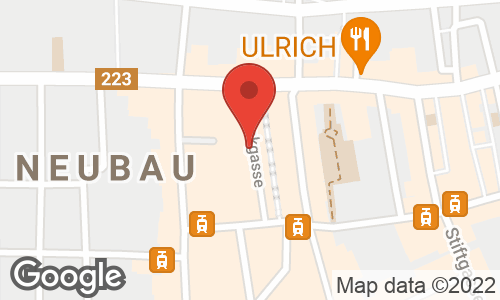 Google Map: Stuckgasse 9/11, Wien